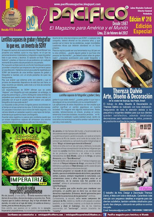 Revista Pacífico Nº 316 Edición Especial