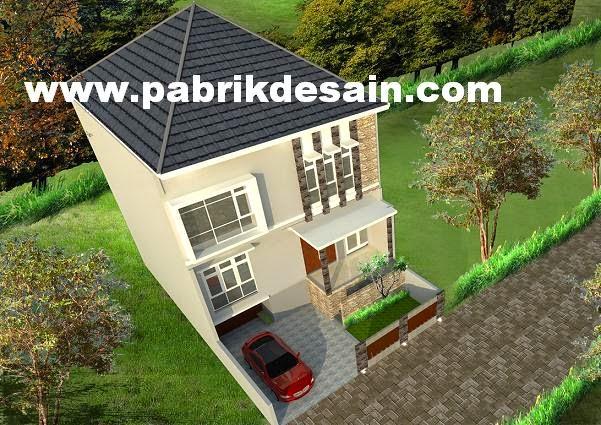 jasa desain rumah murah desain rumah birdview gambar