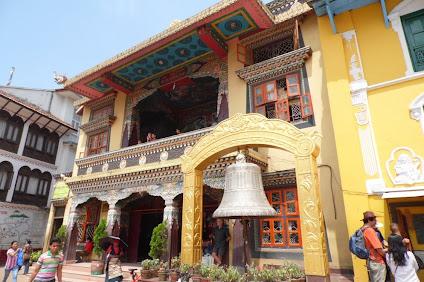 Boudhanath stupa area