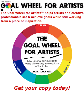 Get the Book - Goal Wheel for Artists!