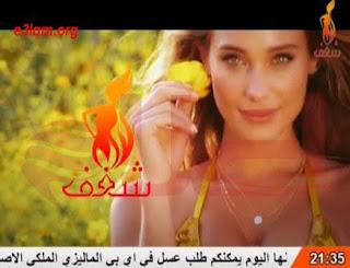 قناة شغف للرقص الشرقي /Passion frequency channel on Nilesat