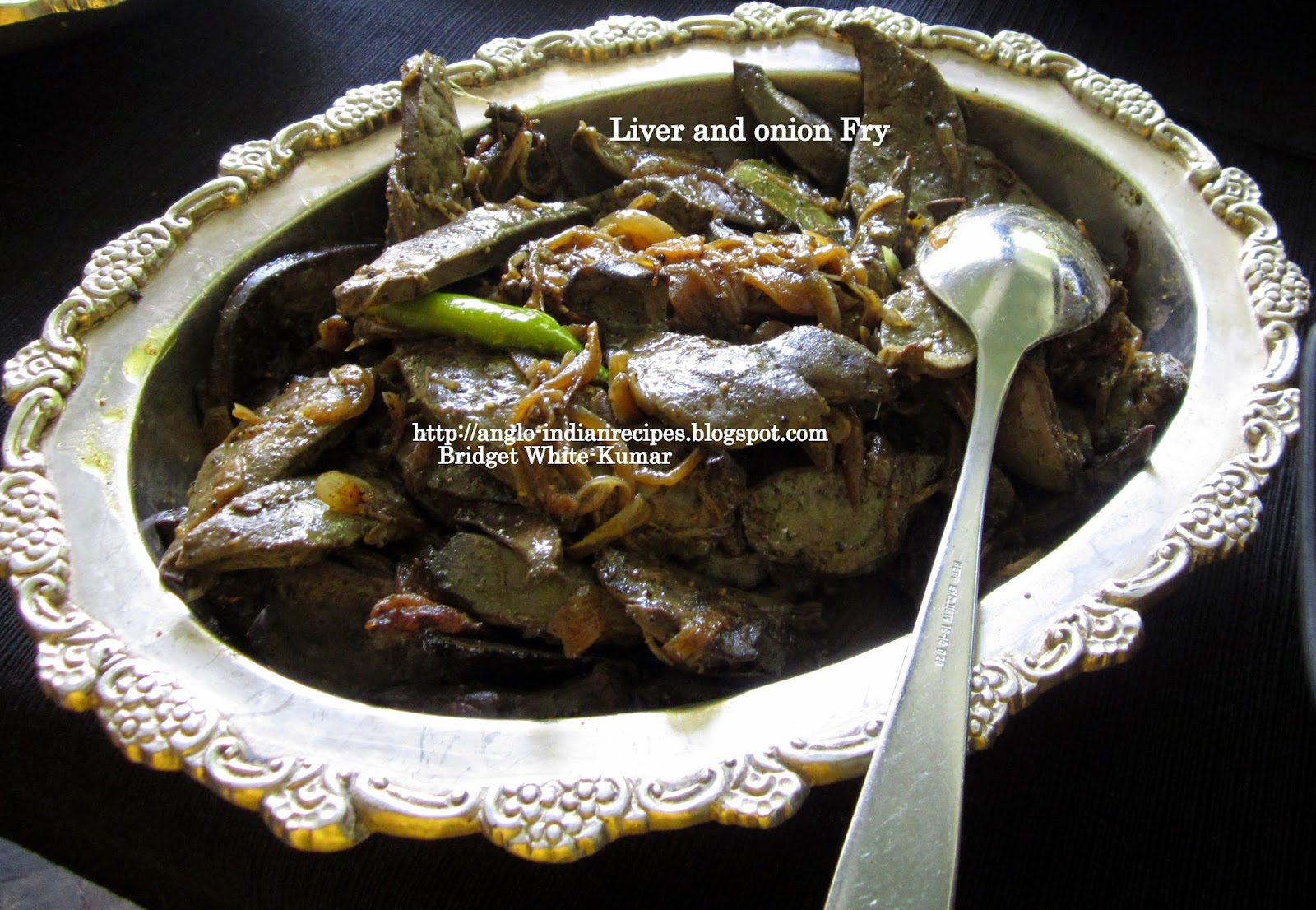Goat liver with dill leaves indian kitchen cooking recipes - A Simple Anglo Indian Dish The Sliced Onions Enhance The Flavour And Taste Of The Diced Sauteed Liver It Can Be Served As A Side Dish With Steamed Rice