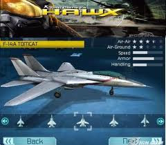game android H.A.W.X apk+data Full download