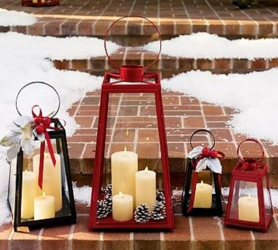 Il giardino sfumato - Decorare lanterne ...