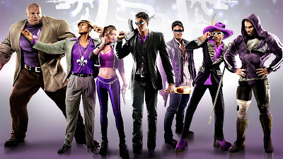 Saints Row the Third group picture