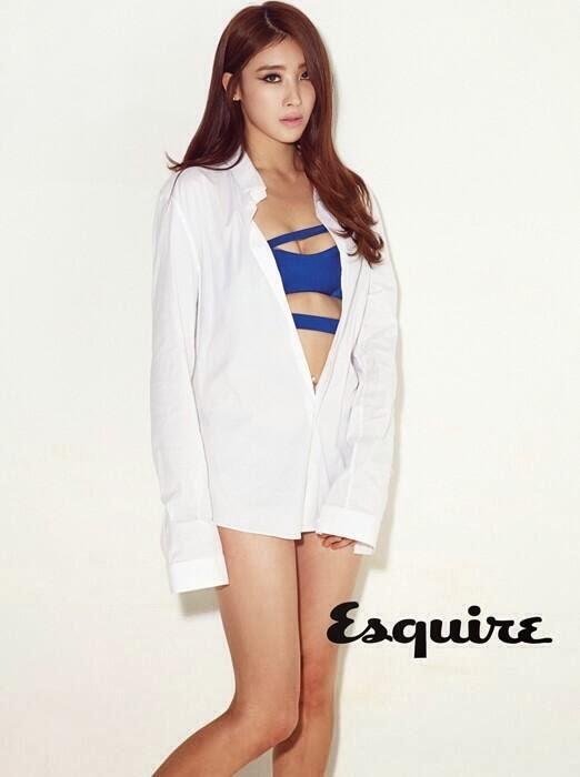 Kyungri Sungah Hyuna Nine Muses - Esquire Magazine March Issue 2014