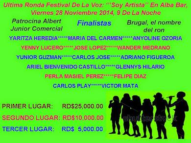 FESTIVAL DE LA VOZ...ULTIMA RONDA