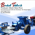 Produsen Mesin Bata Press