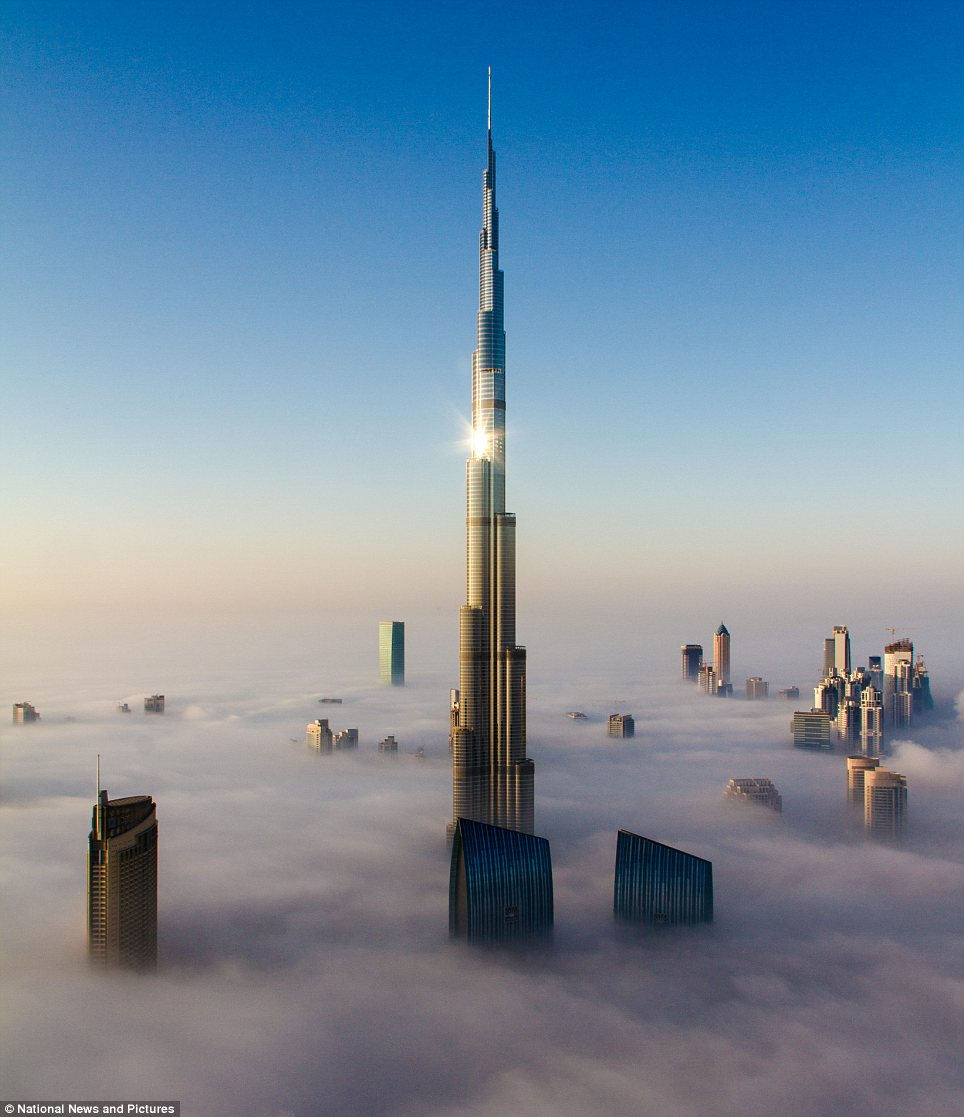 Burj e khalifa in dubai uae facts pod Dubai buildings