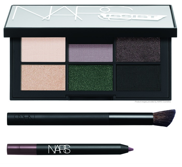 NARSissist Hardwired Eye Kit Fall 2015 Six Appeal Eyeshadow Palette Via DeMartelli Larger Than Life Eyeliner Wide Contour Makeup Brush 43