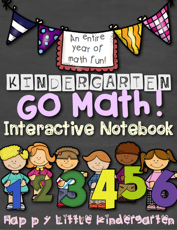 math worksheet : happy little kindergarten kindergarten go math! interactive notebook : Interactive Worksheets For Kindergarten