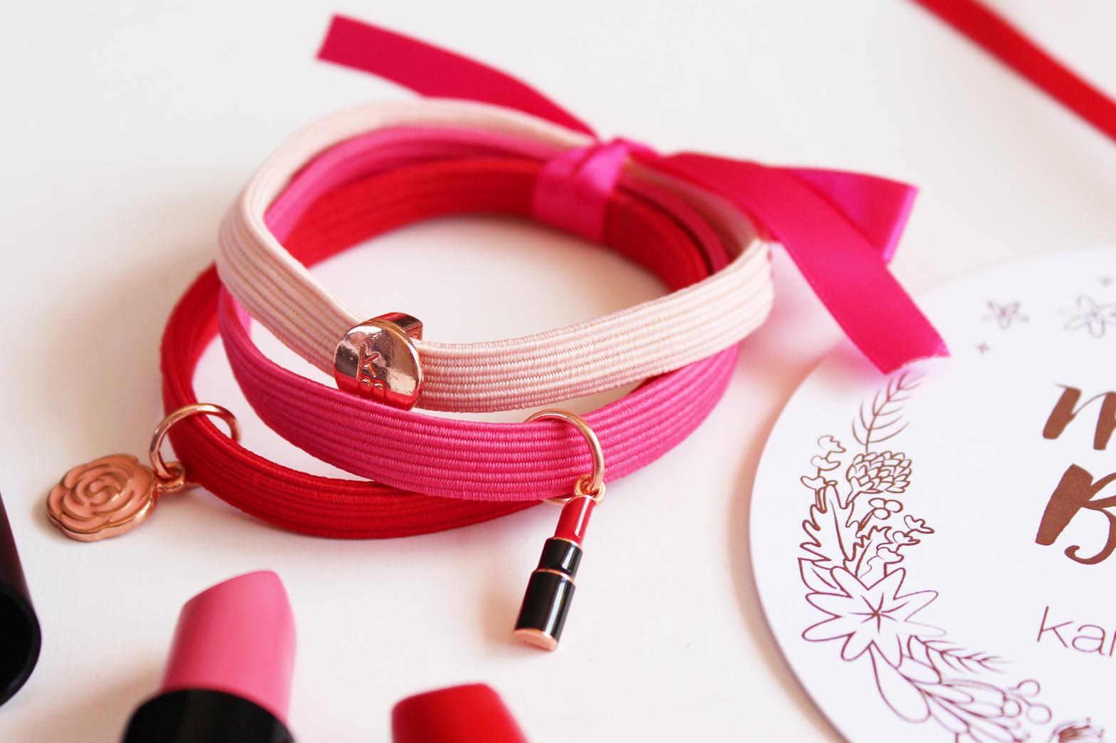KAREN MURRELL   Christmas Lipstick + Charm Bracelet Gift Set - CassandraMyee
