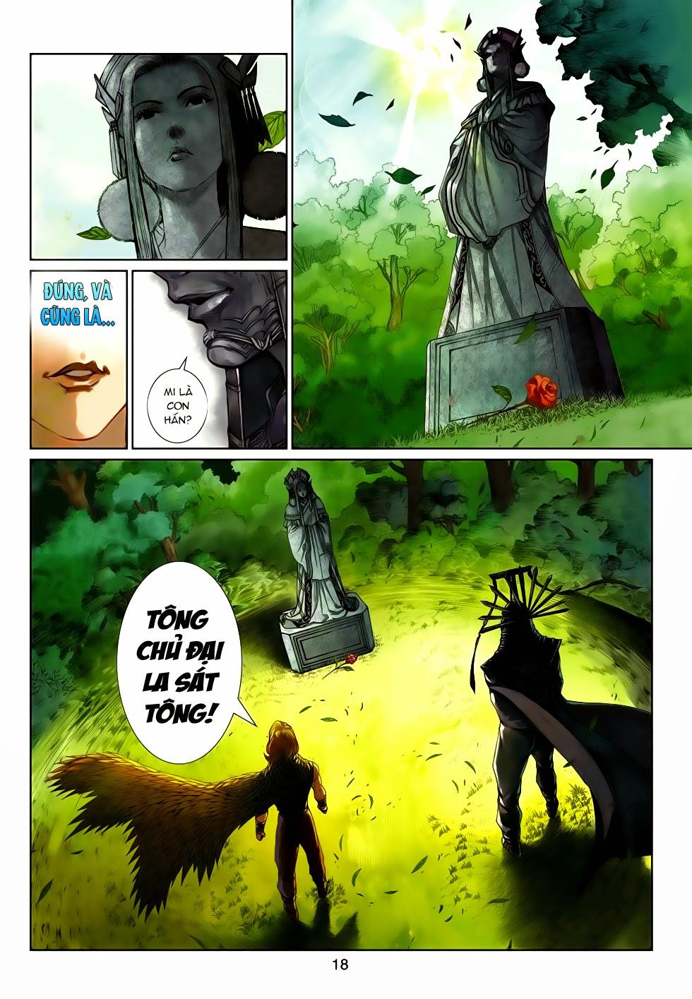 Thần Binh Tiền Truyện 4 - Huyền Thiên Tà Đế chap 14 - Trang 18