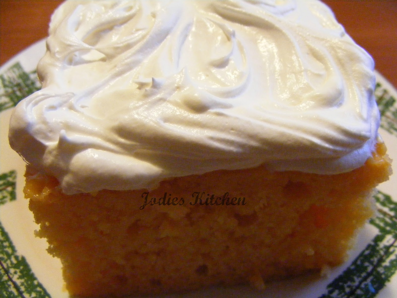 Jodies Kitchen: Mandarin Orange Cake