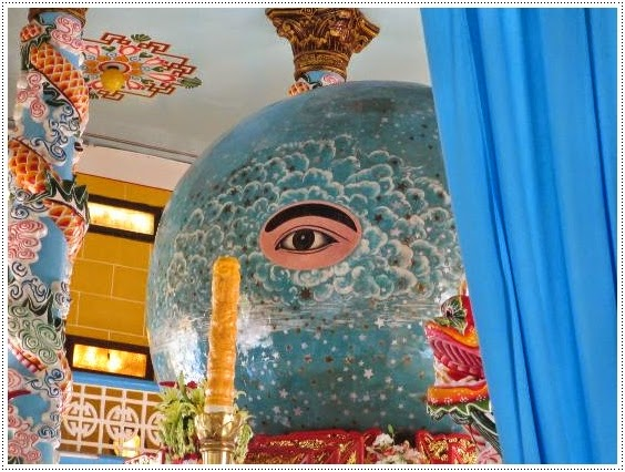 Cao Dai Temple Tay Ninh Near Saigon