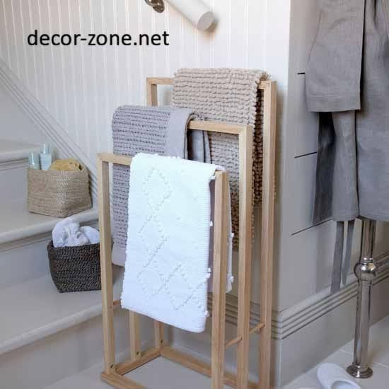 Towel Racks, Bathroom Storage Ideas
