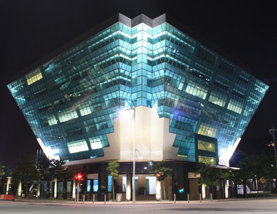 Gambar Bangunan Berlian ST / ST Diamond building (tenyeh tikus untuk