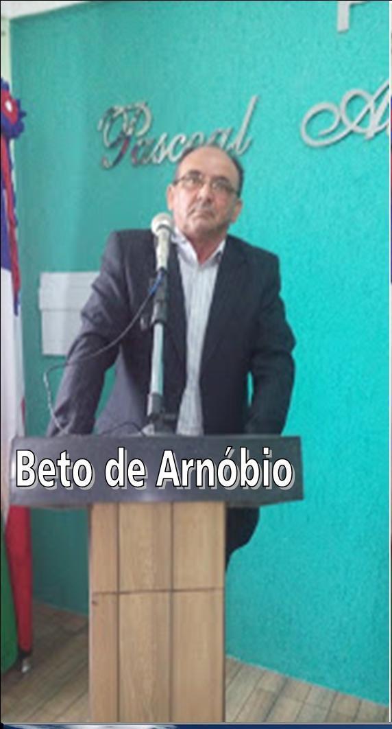 Vereador Beto de Arnóbio