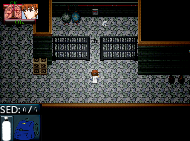 [RPG Maker XP] Autopsia (Survival Horror) Hud