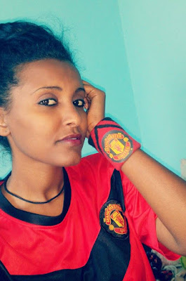 Girl Manchester United