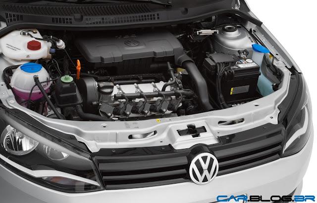 VW Voyage 2013 - motor