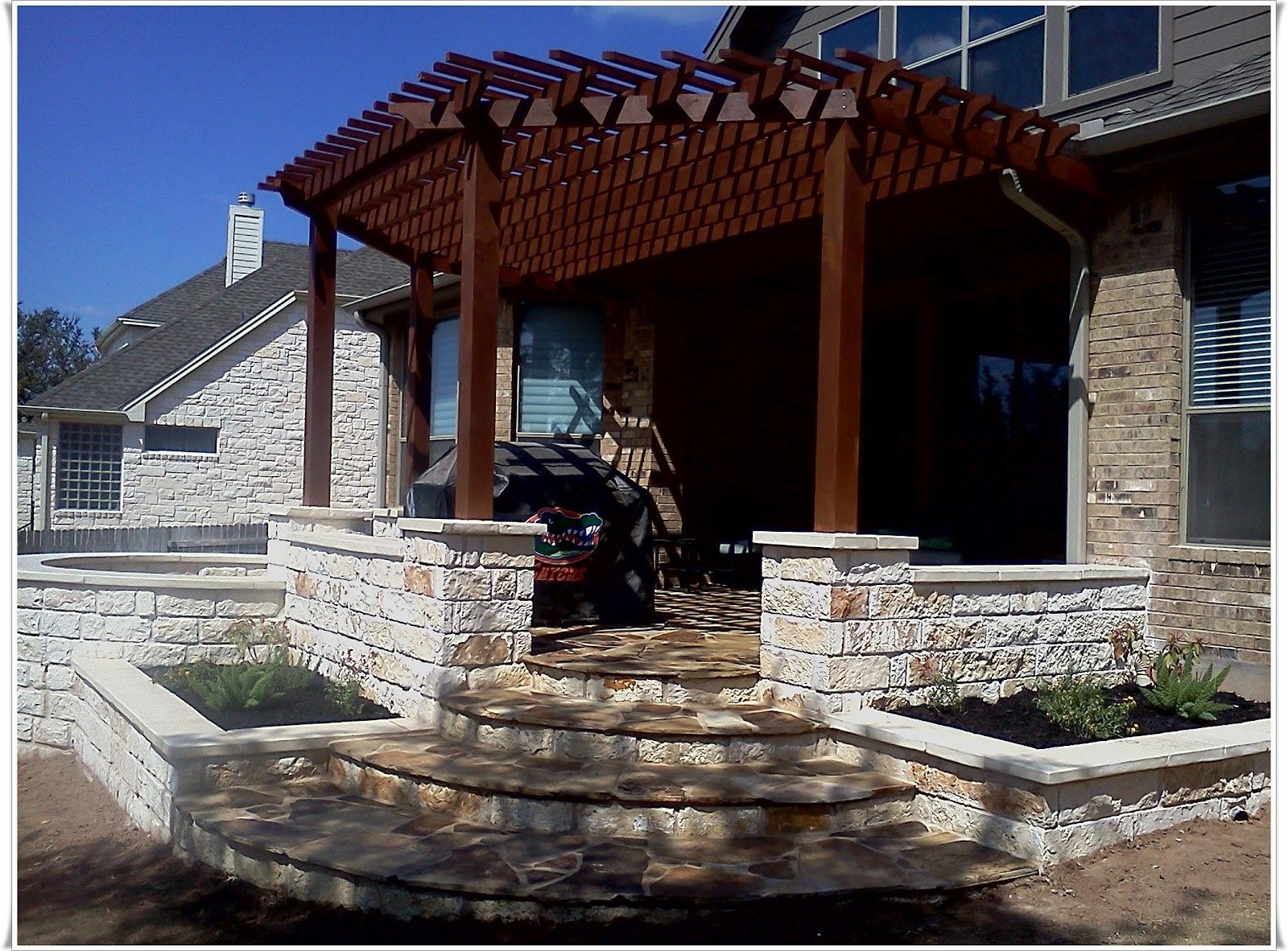 Patio Stone Austin - Home Design Inspiration, Ideas and Pictures