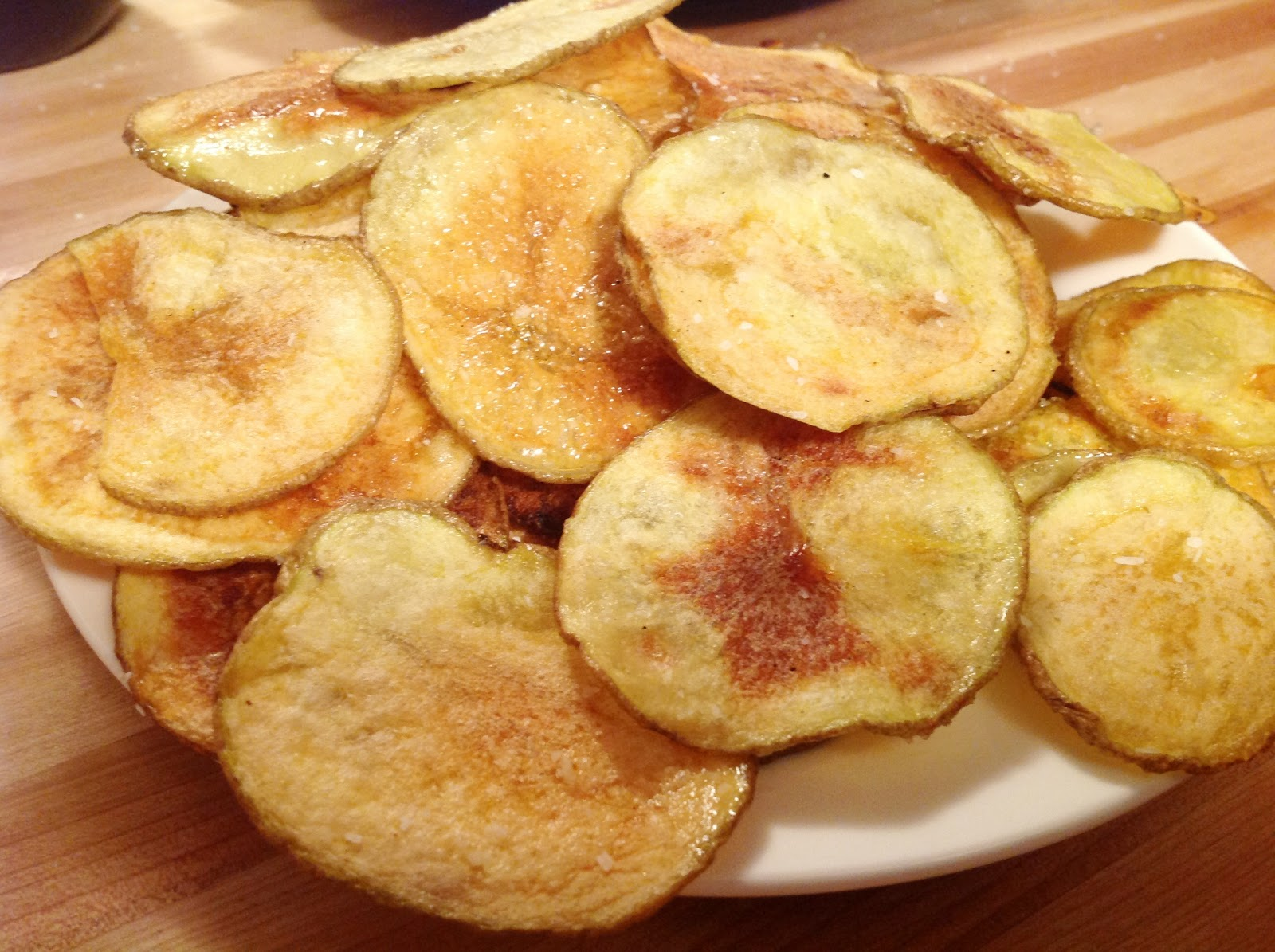 "Homemade Baked Potato Chips | The ""V"" Word"