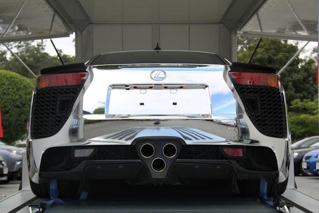 Auto Reviews, Gallery, Sport Cars, Lexus, Lexus LFA,Lexus LFA chrome