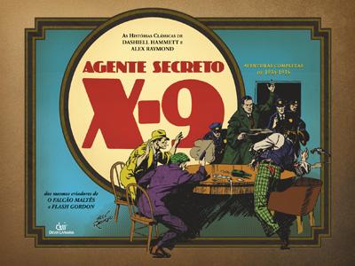 CRIPTA.... (coletânia de histórias clássicas de TERROR)!!! X-9