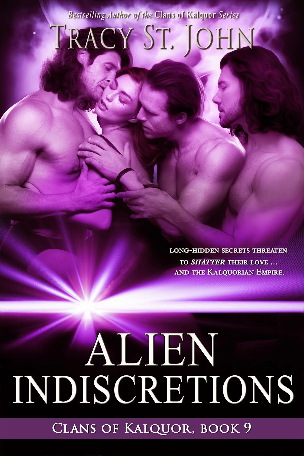 Alien Indiscretions (Clans of Kalquor 9)
