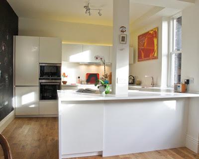 Decoração de cozinha e sala de jantar combina elegância