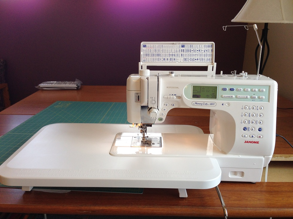 Hachi nikki my baby revealed for Janome memory craft 6600p