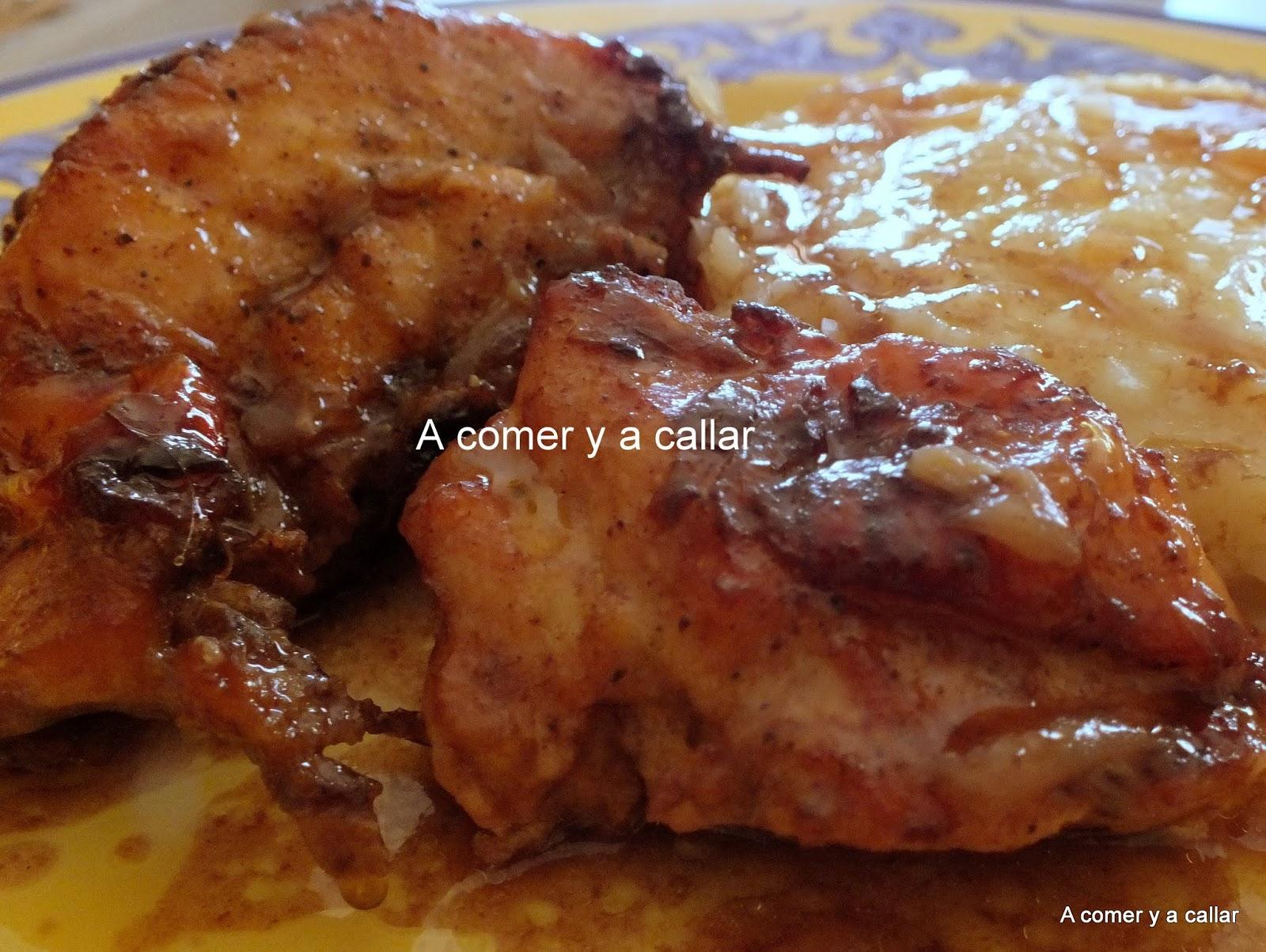 A comer y a callar: POLLO ASADO CON COCACOLA