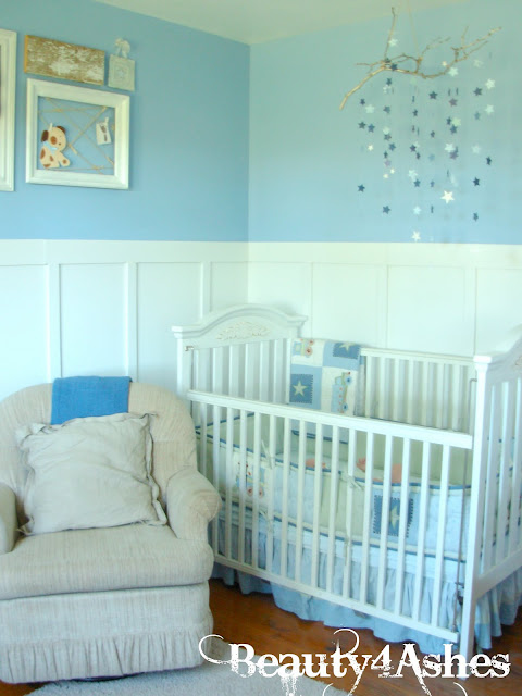make your own mobile, nursery