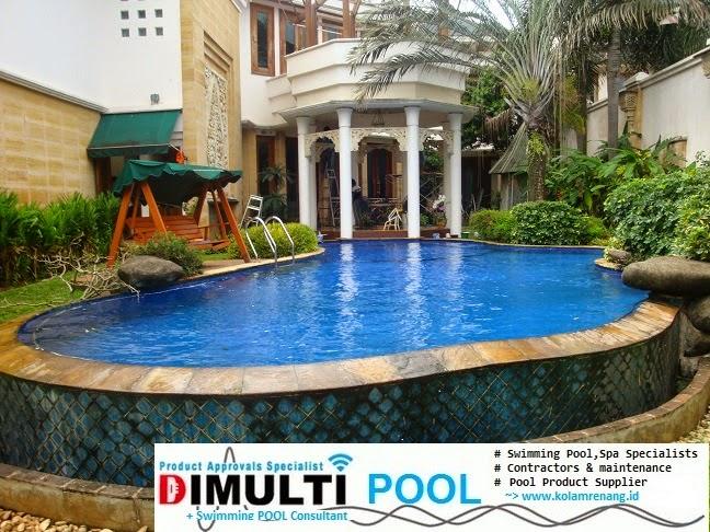 kolam renang artis image