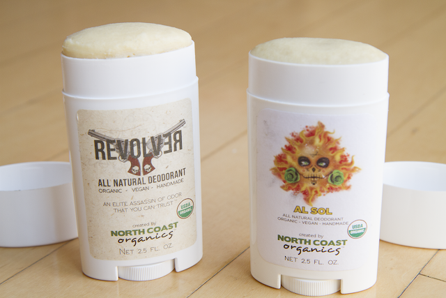 Photo of North Coast Organics deodorant.