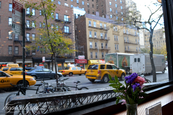New York November 2012 Schaufenster Restaurant