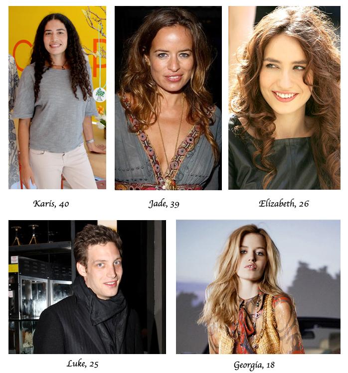 mick jagger seven children four different women