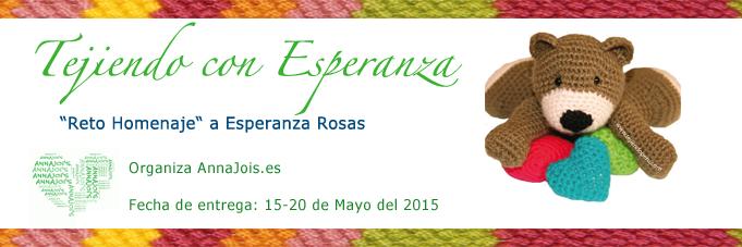 Tutorial Amigurumi Esperanza Rosas : Srta. Cacahueta: Reto homenaje tejiendo con Esperanza ...