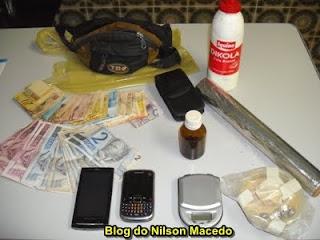 SALGUEIRO-PE: Ação conjunta das polícias civil e militar resulta na apreensão de 145 gramas de crack