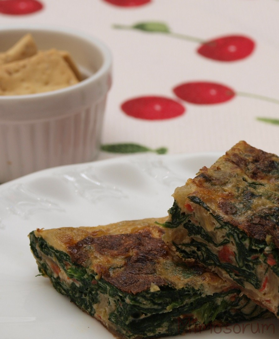Spinach Omelette. Mimosorum