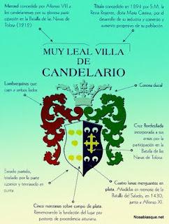 Escudo y armas de candelario Salamanca