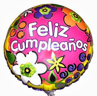 Feliz Cumpleaños con Globos, parte 2