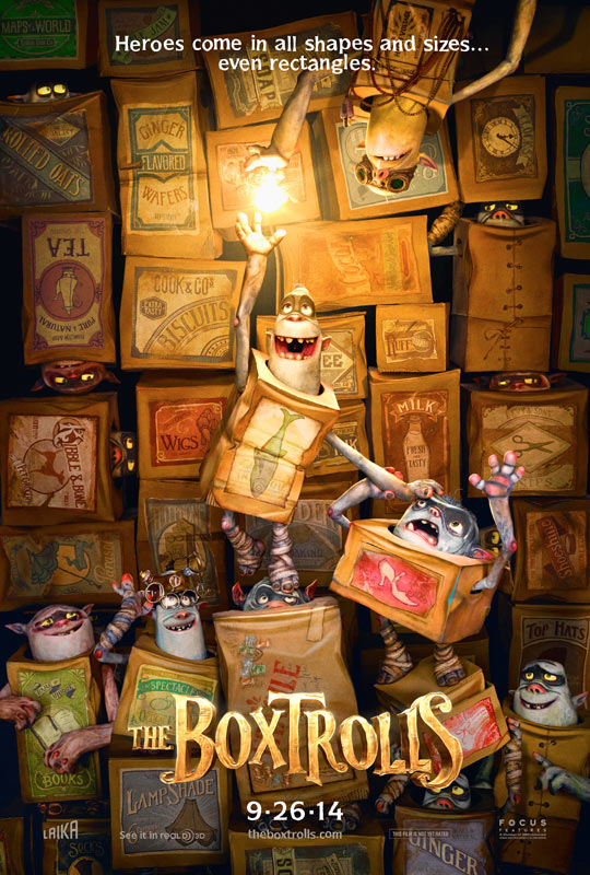 The Boxtrolls (2013)