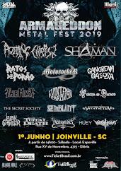 Armaggeddon Metal Fest 2019 - Joinville SC