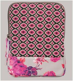Malìparmi borsa porta iPad in tessuto della memoria