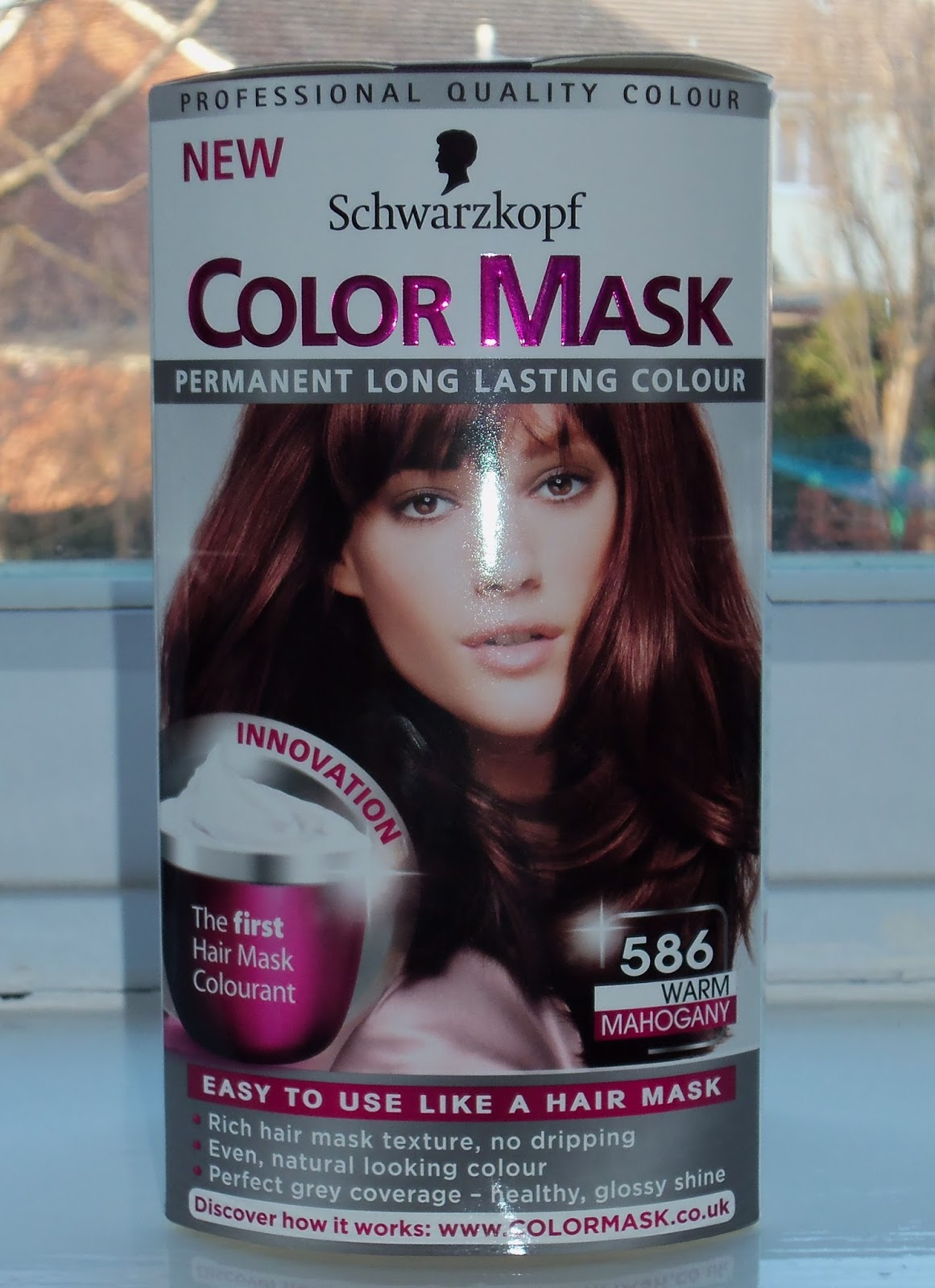 Beauty And Beyond Schwarzkopf Color Mask Permanent Hair Dye