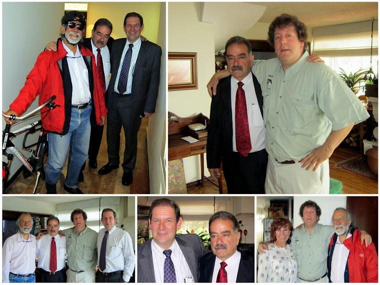 Encuentro entre primos Ossa, nietos de Ricardo Ossa Ossa y Camelia Ossa Ossa