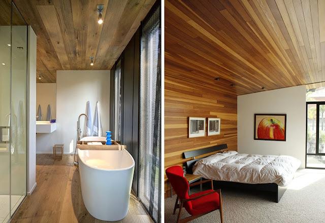 Techos de madera inspiraci n for Techos madera interior