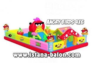Istana Balon Angry Bird 4x6